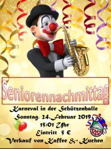 Seniorenkarneval @ Schützenhalle Scharmede