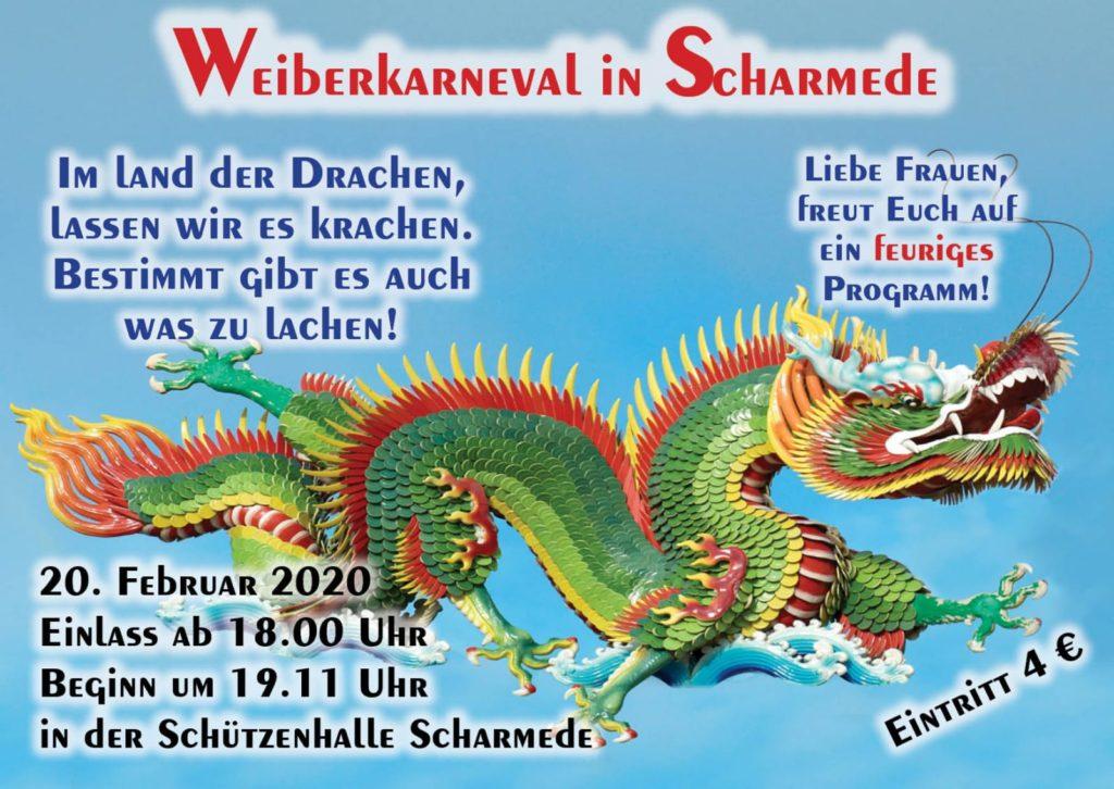 kfd-Einladung zum Weiberkarneval 2020 @ Schützenhalle Scharmede | Salzkotten | Nordrhein-Westfalen | Deutschland