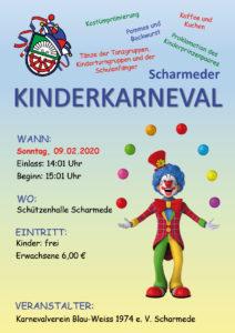 Kinderkarneval @ Schützenhalle Scharmede